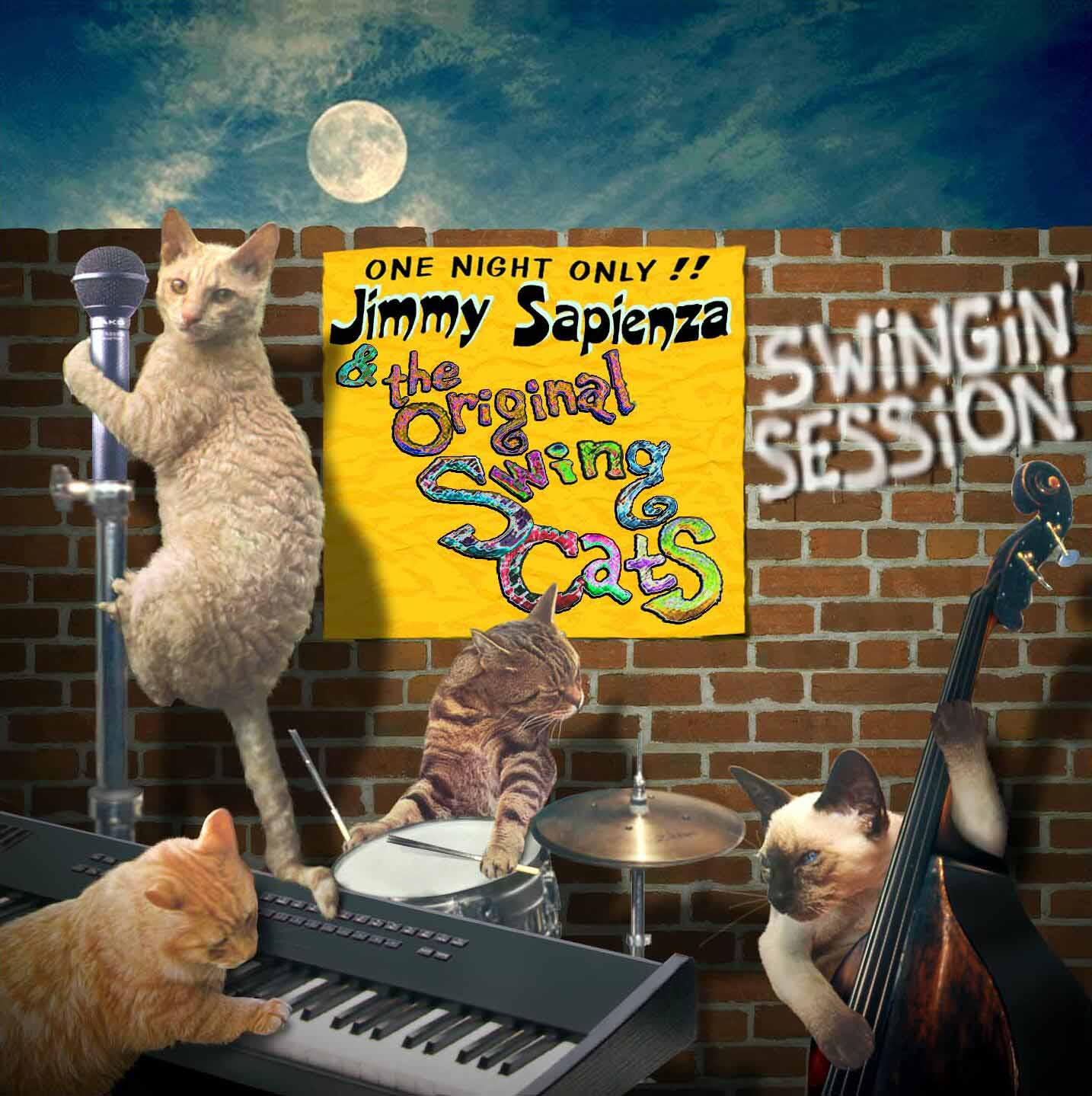 Swingin Session CD Cover